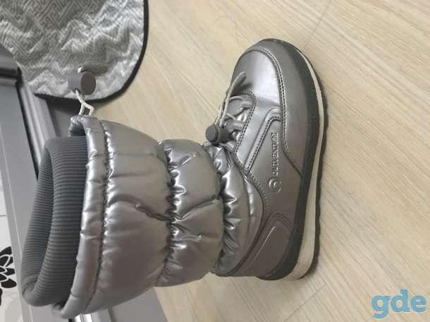 Продам обувь для девочки отличное состояние : сапоги,балетки, красавки, фотография 5