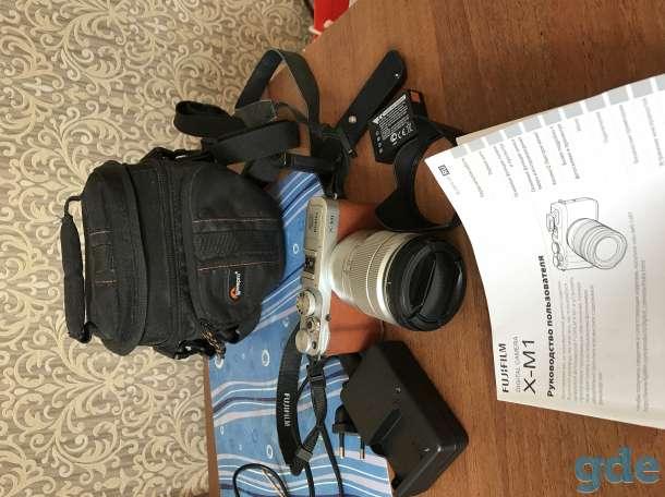 Фотоаппарат Fujifilm X-M1 kit 16-50, фотография 3