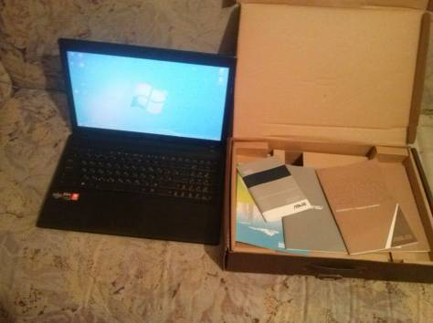 Продам ASUS X55U отличное состояние документы 1 год владения, фотография 1