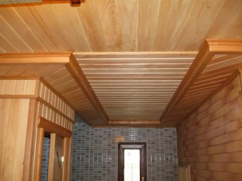 Как обшить потолок евровагонкой в деревянном доме