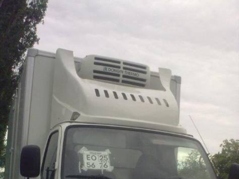 Корейские грузовики Hyundai HD-78 (рефрижераторы, изотермические, промтоварные фургоны), фотография 1