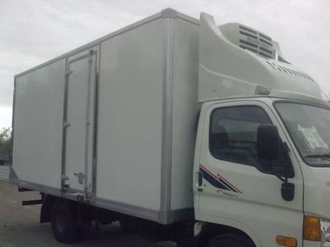 Корейские грузовики Hyundai HD-170 (рефрижераторы, изотермические, промтоварные фургоны), фотография 1