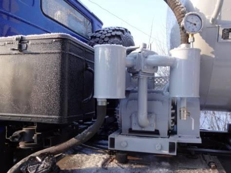 Машина вакуумная МВ-10 на Урале дв. ЯМЗ-238 новый с консервации с новой  цистерной , фотография 4