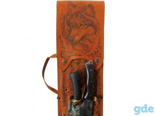 Нож,подарочный набор,топор,коптильня,барсетка, фотография 8