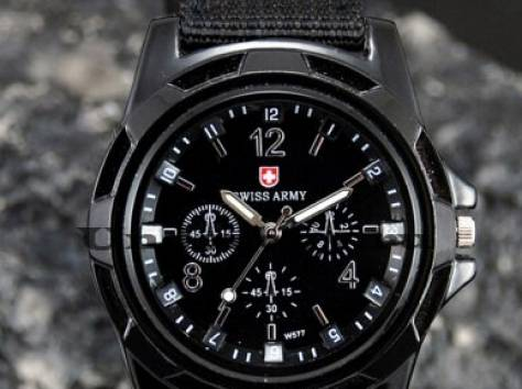 Новые модные часы Swiss Army, фотография 2