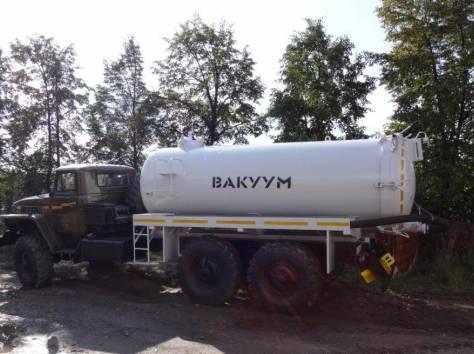 Машина вакуумная МВ-10 на Урале дв. ЯМЗ-238 новый с консервации с новой  цистерной, фотография 2