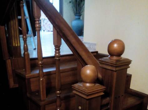 Изготовление деревянных лестниц в Новопокровской, фотография 3