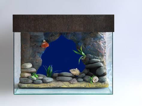 Декоративный задний фон для аквариума на заказ , фотография 7