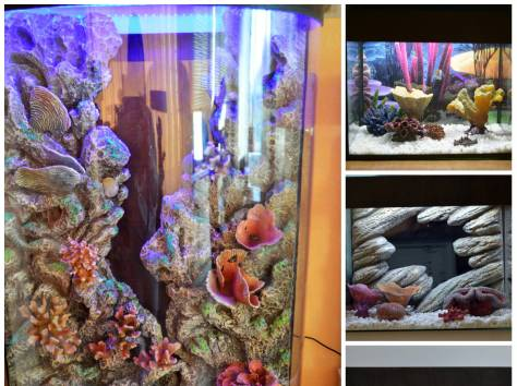 Декоративный задний фон для аквариума на заказ , фотография 11