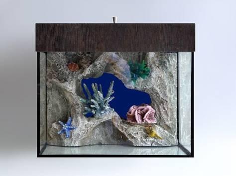 Декоративный задний фон для аквариума на заказ, фотография 1