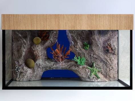 Декоративный задний фон для аквариума на заказ, фотография 8