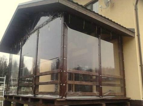 Шторы ПВХ прозрачные рулонные, фотография 2