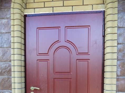 простые металлические двери в раменском
