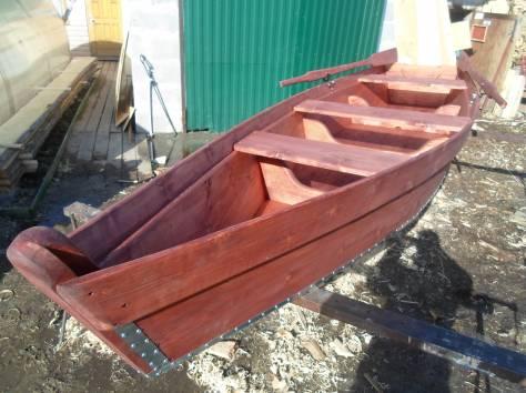 Лодка деревянная, фотография 1
