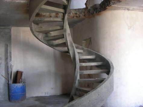 строительство монолитных лестниц, фотография 3
