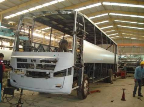 Кузовной ремонт автобусов, фотография 2