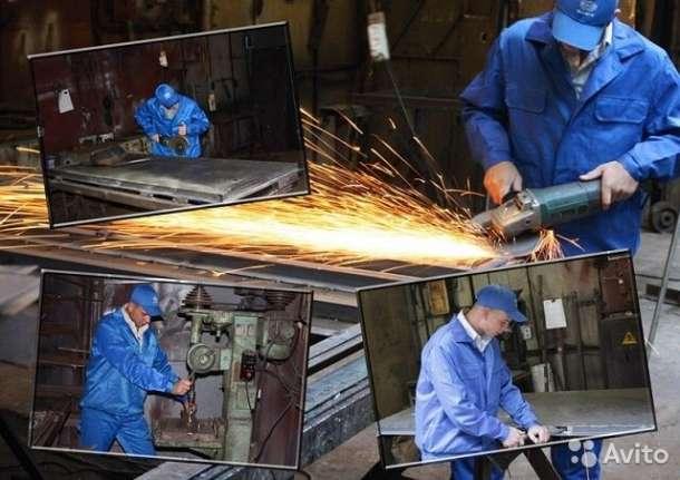 двери металлические на заводе металлоконструкций