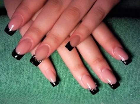 Нарощенные ногти единичка