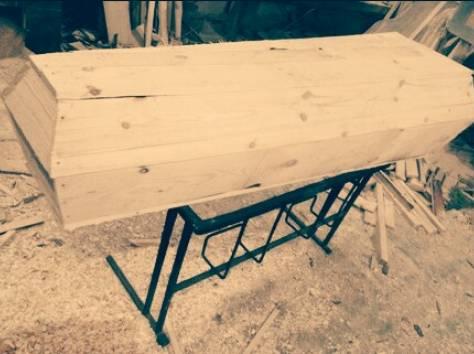 Изготовление заготовок гробов под обивку, крестов, мусульманских могильных досок , фотография 1