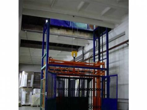 Подъемник грузовой ТИТАН шахтный для складского комплекса, фотография 1