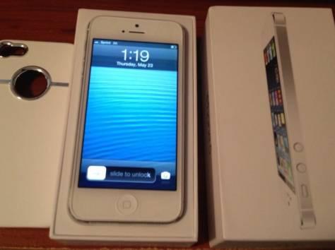 Apple iPhone 5 64GB SIM Freehite white, фотография 1