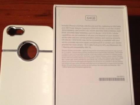Apple iPhone 5 64GB SIM Freehite white, фотография 3