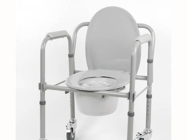 ходунки, кресло-туалет для инвалидов, фотография 2
