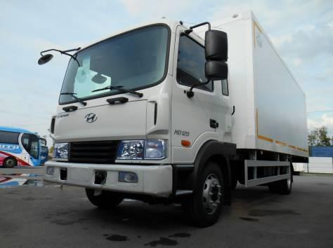 Изотермический фургон на шасси Hyundai HD 120, фотография 1