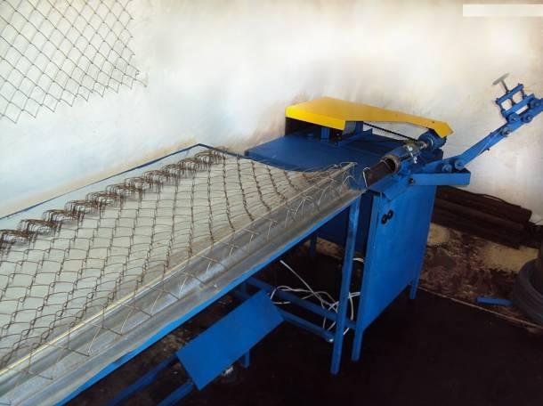 Станок по производству сетки рабицы фото своими руками
