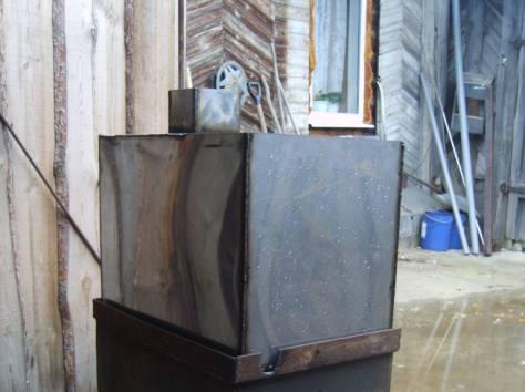 печь для бани с баком из нержавейки на 96литров, фотография 1