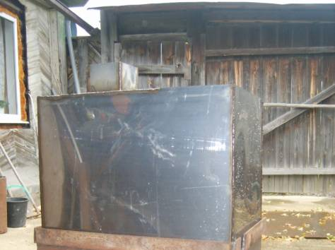 печь для бани с баком из нержавейки на 96литров, фотография 3