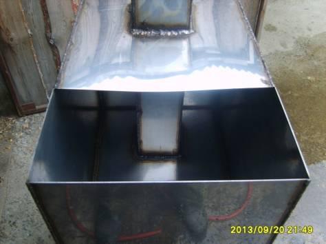 печь для бани с баком из нержавейки на 96литров, фотография 4
