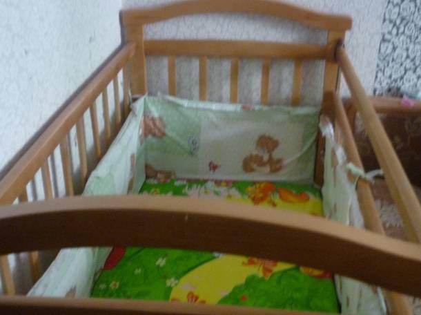 кроватка б.у, фотография 2