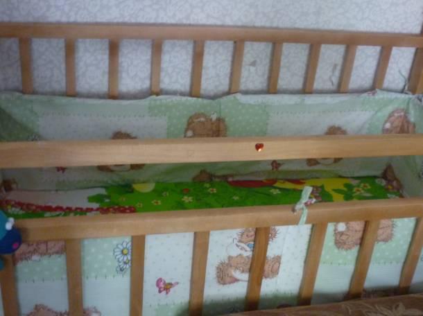 кроватка б.у, фотография 3