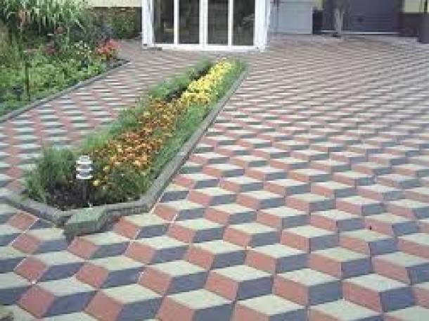 Укладка тротуарной плитки и брусчатки, фотография 5