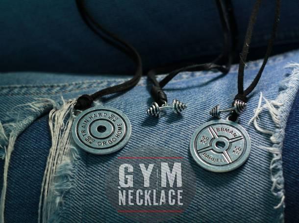 Кожанный спорт браслет и кулоны, фотография 5