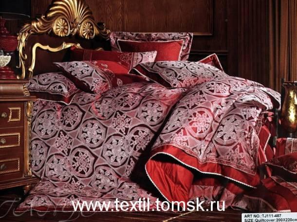 Постельное белье жаккард в Томске. Евро размер на вашу постельку, фотография 4