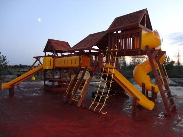 Детские игровые площадки для улицы, фотография 5
