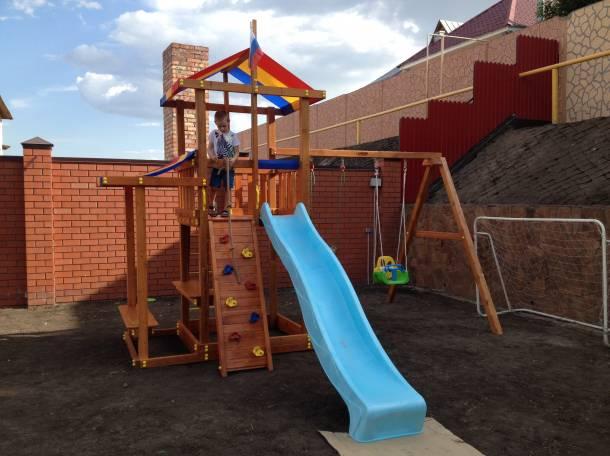 Детские игровые площадки для улицы, фотография 6
