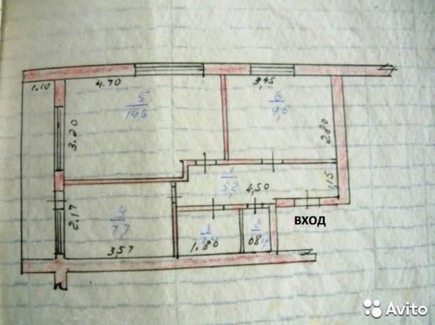Продам 2-х ком квартиру, ул. Ленина, фотография 7