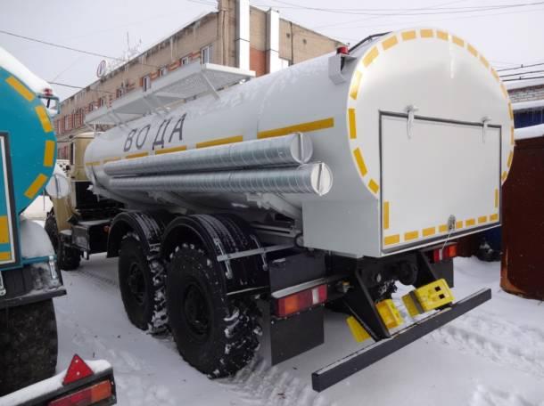 Автцитсерна для воды на Урале 10 тн. северное исполнение, фотография 1