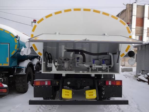 Автцитсерна для воды на Урале 10 тн. северное исполнение, фотография 10