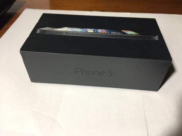 Продаю iPhone 5 (32Gb)  черный цвет, фотография 1