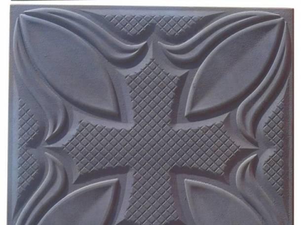 Формы для производства тротуарной плитки, фотография 1