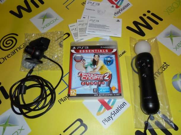 Комплект PlayStation Move (PS3), фотография 1