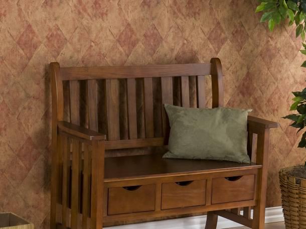 Скамейки, лавки в стиле Прованс, Классика из массива , фотография 8