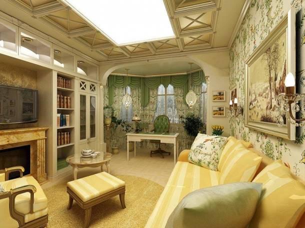 Отделка интерьера квартир, домов, коттеджей массивом., фотография 3