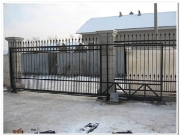 Автоматические раздвижные ворота в липецке ворота откатные бу в вологде