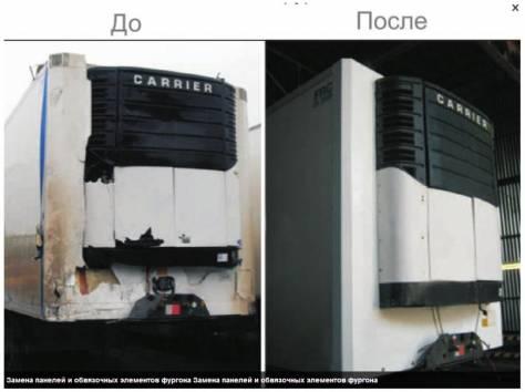 ремонт полуприцепов фургонов спецтехника, фотография 2