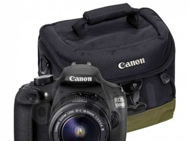 зеркальный фотоаппарат CANON EOS 1200D с объективом 18-55 mm, фотография 2